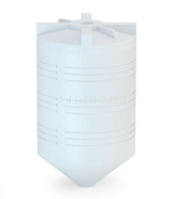 Пластиковый силос АС-1500 (емкость полного слива)