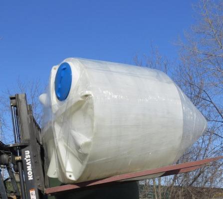 Пластиковый силос С-3000 (ёмкость полного слива)