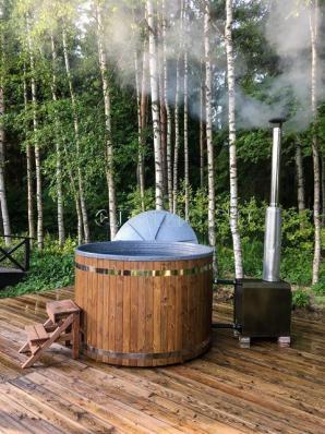 Водогрейная печь для фурако (купели, бассейна) Basic