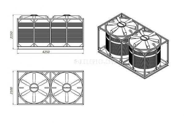 Кассета для перевозки 11000 (2х5500л)