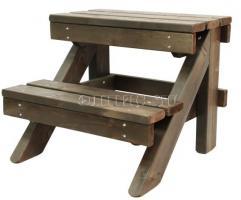 Лестница для  фурако ( купели 550 мм. лиственница)