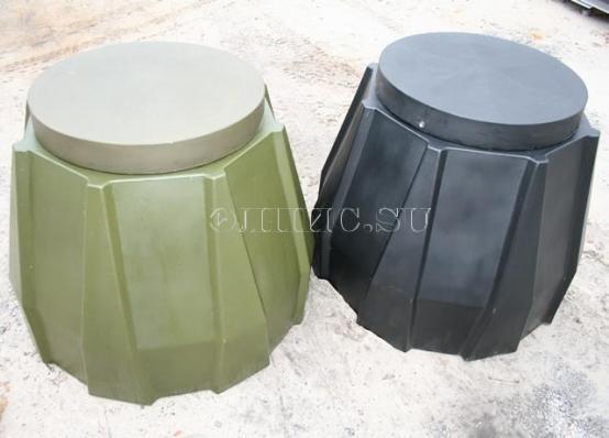Универсальная пластиковая крышка из полиэтилена D580