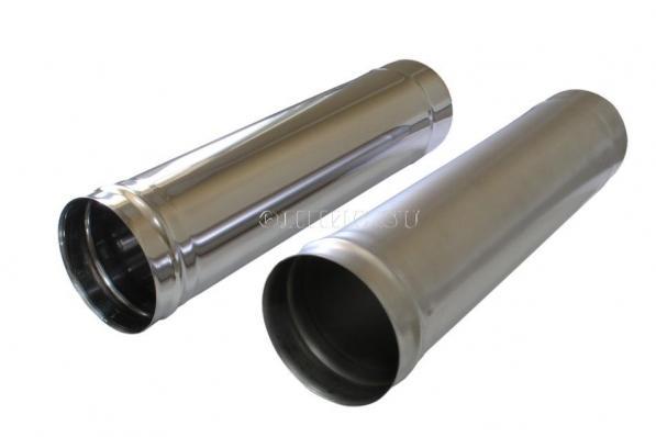 Дымоход с зонтом (2 м.)