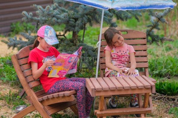 Деревянный стул складной (лиственница, кедр)