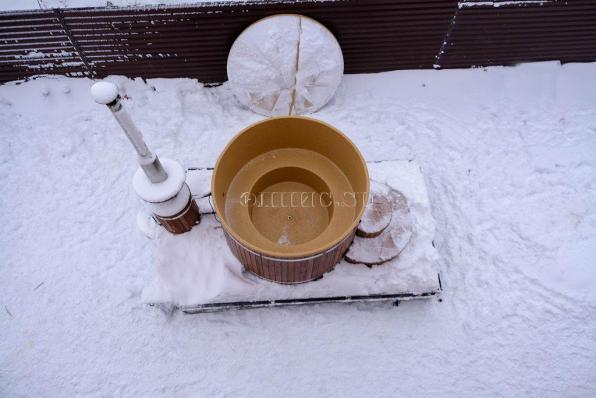 Фурако 1850 мм ( Купель с подогревом + крышка)