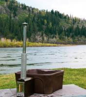 Водогрейная печь для фурако Уса оцинкованная сталь